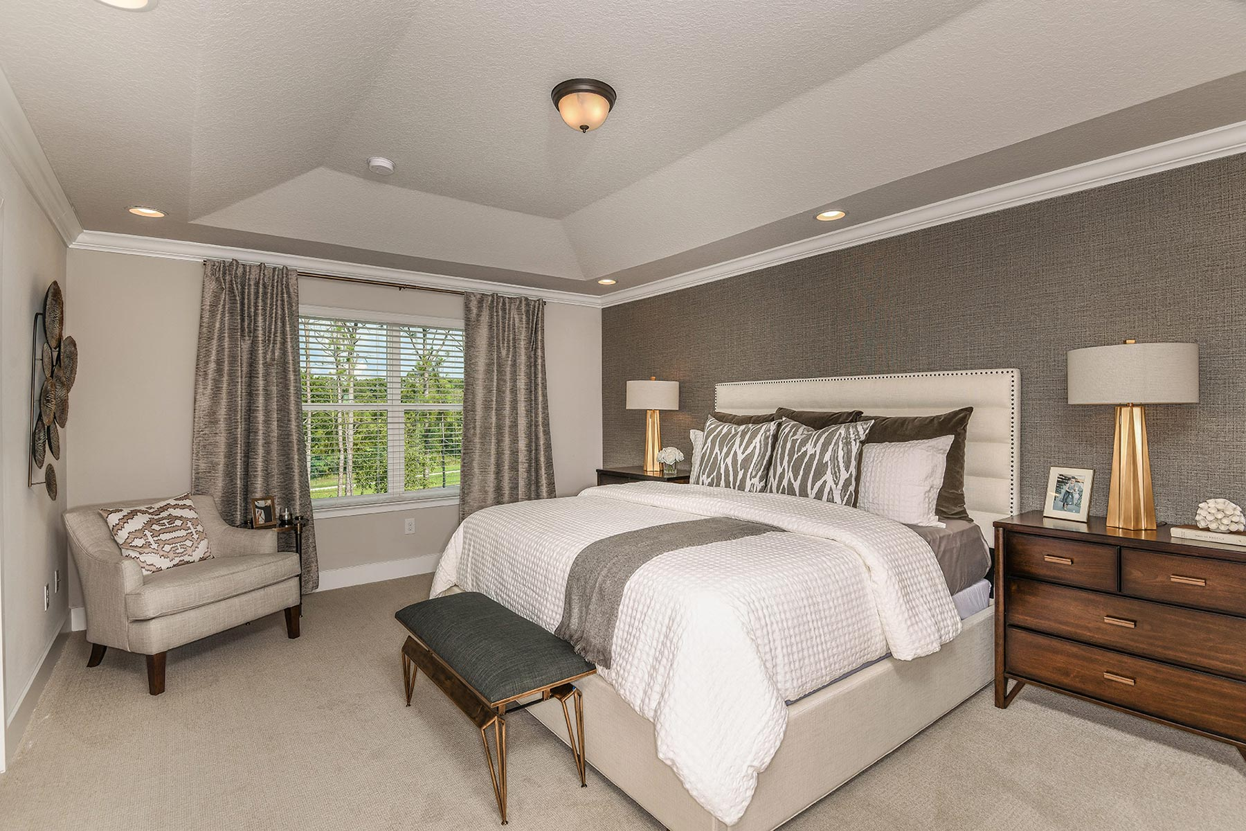 Boyette Park Bedroom in Riverview Florida by Mattamy Homes