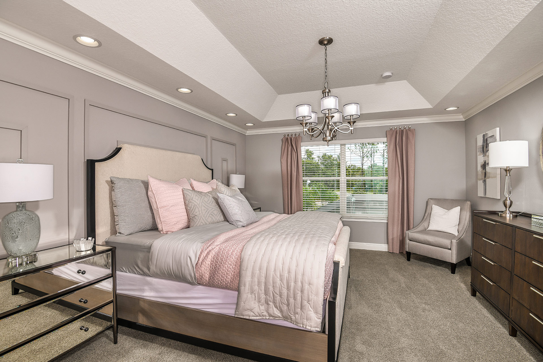 Miramar Plan Bedroom at Boyette Park in Riverview Florida by Mattamy Homes