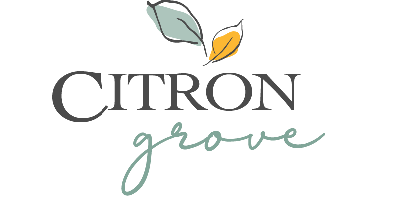 Citron Grove Marketing Logo in Citrus Park Florida by Mattamy Homes