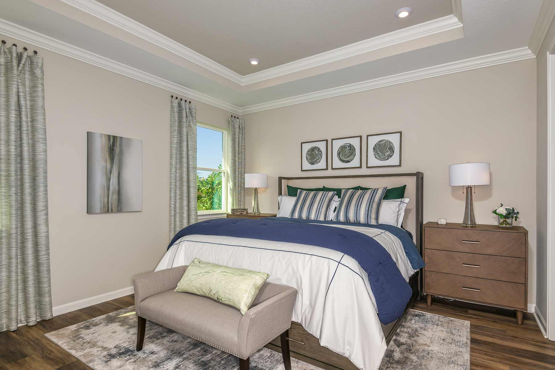 The Preserve at La Paloma Bedroom in Sun City Center Florida by Mattamy Homes