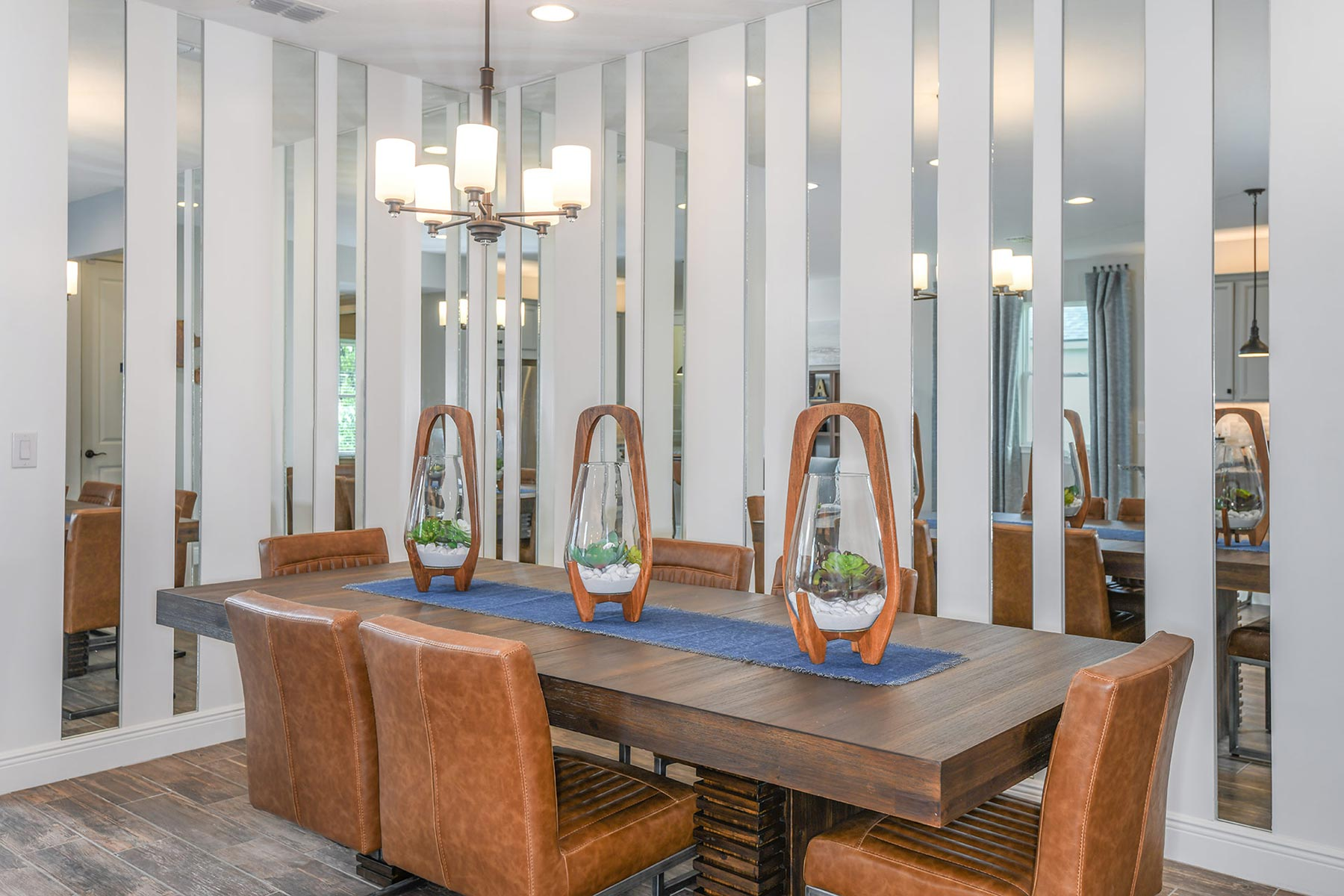 Augustine III Plan Dining at Compass Landing in Naples Florida by Mattamy Homes