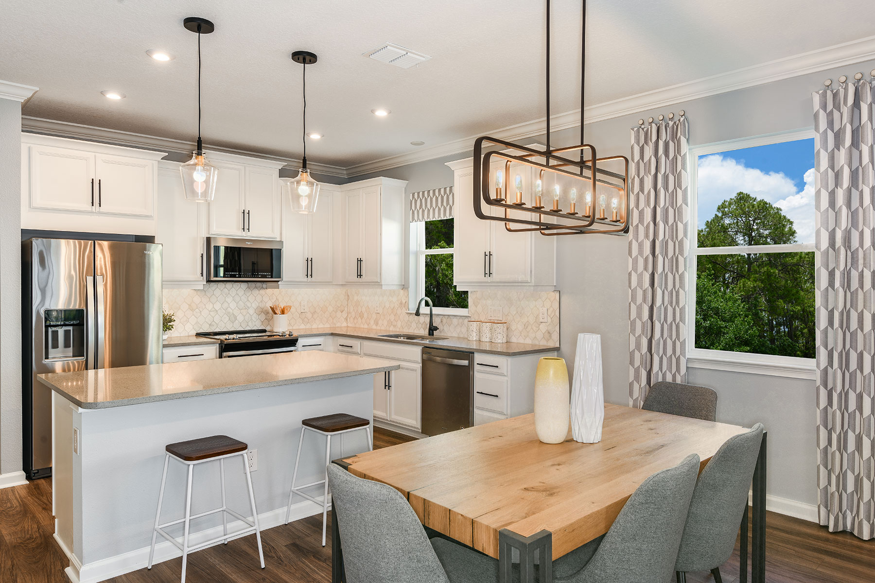Amelia II Plan Dining at Parkview at Long Lake Ranch in Lutz Florida by Mattamy Homes