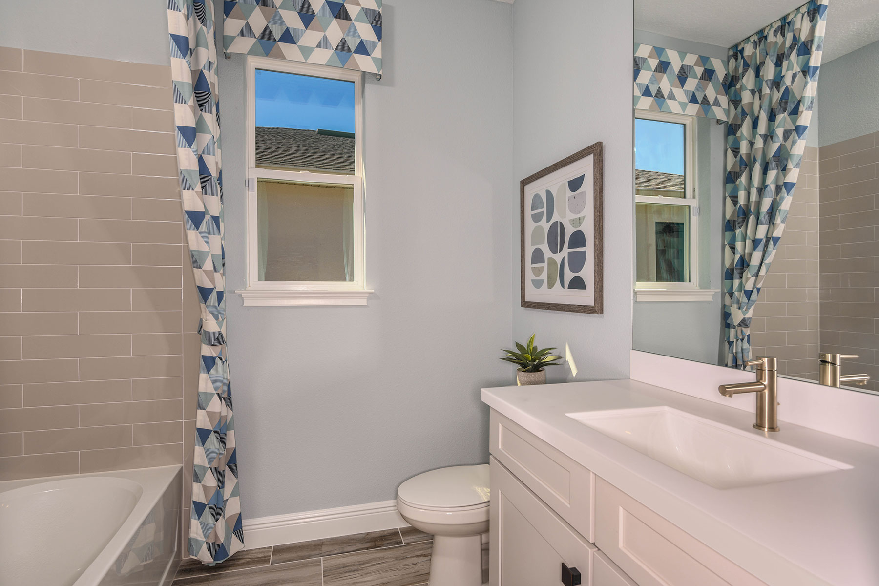 Elm Plan Bath at Parkview at Long Lake Ranch in Lutz Florida by Mattamy Homes