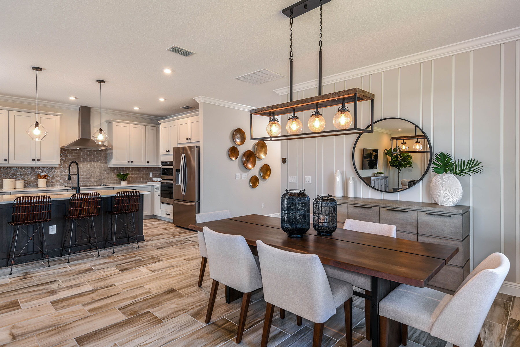 Elm Plan Dining at Parkview at Long Lake Ranch in Lutz Florida by Mattamy Homes