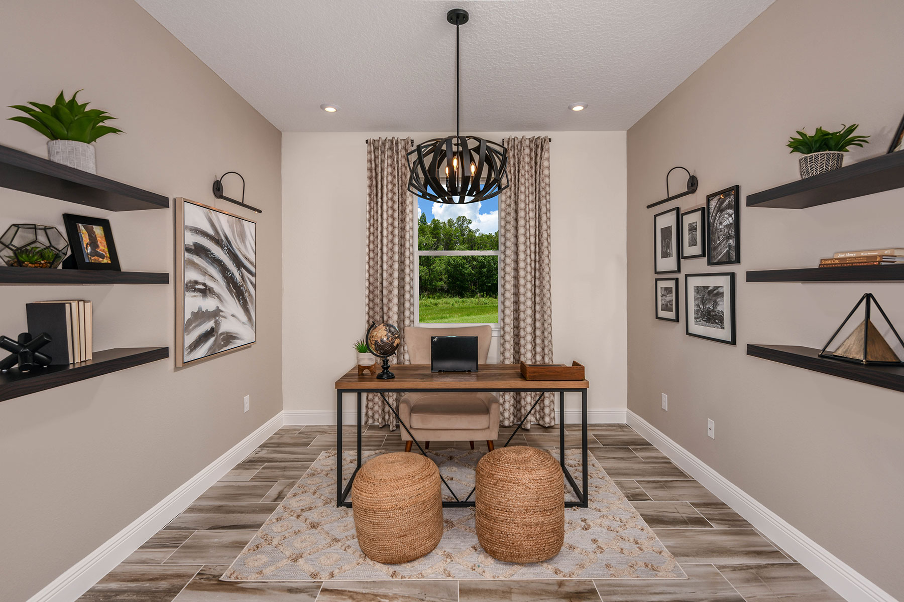 Elm Plan Study Room at Parkview at Long Lake Ranch in Lutz Florida by Mattamy Homes