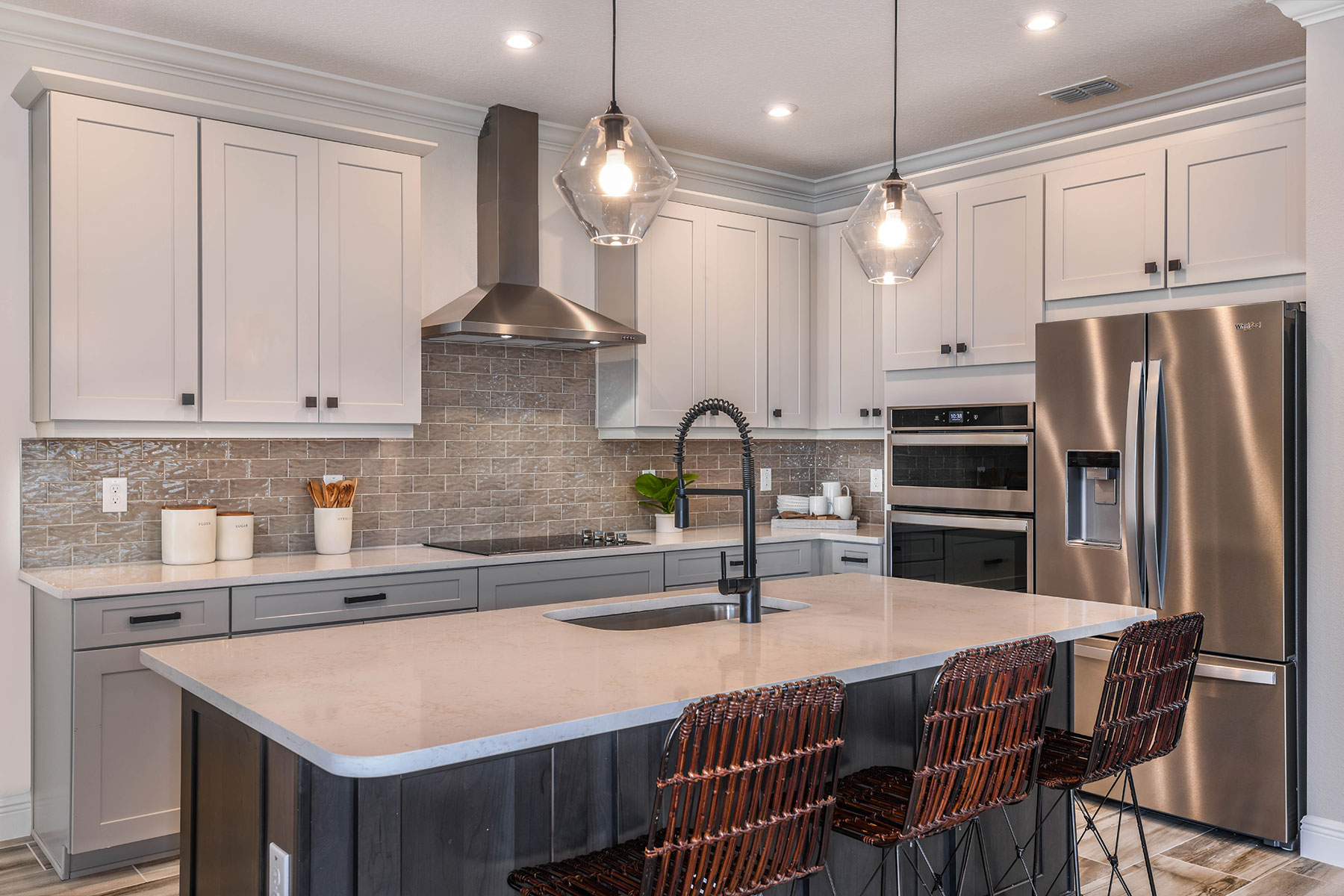 Parkview at Long Lake Ranch Kitchen in Lutz Florida by Mattamy Homes
