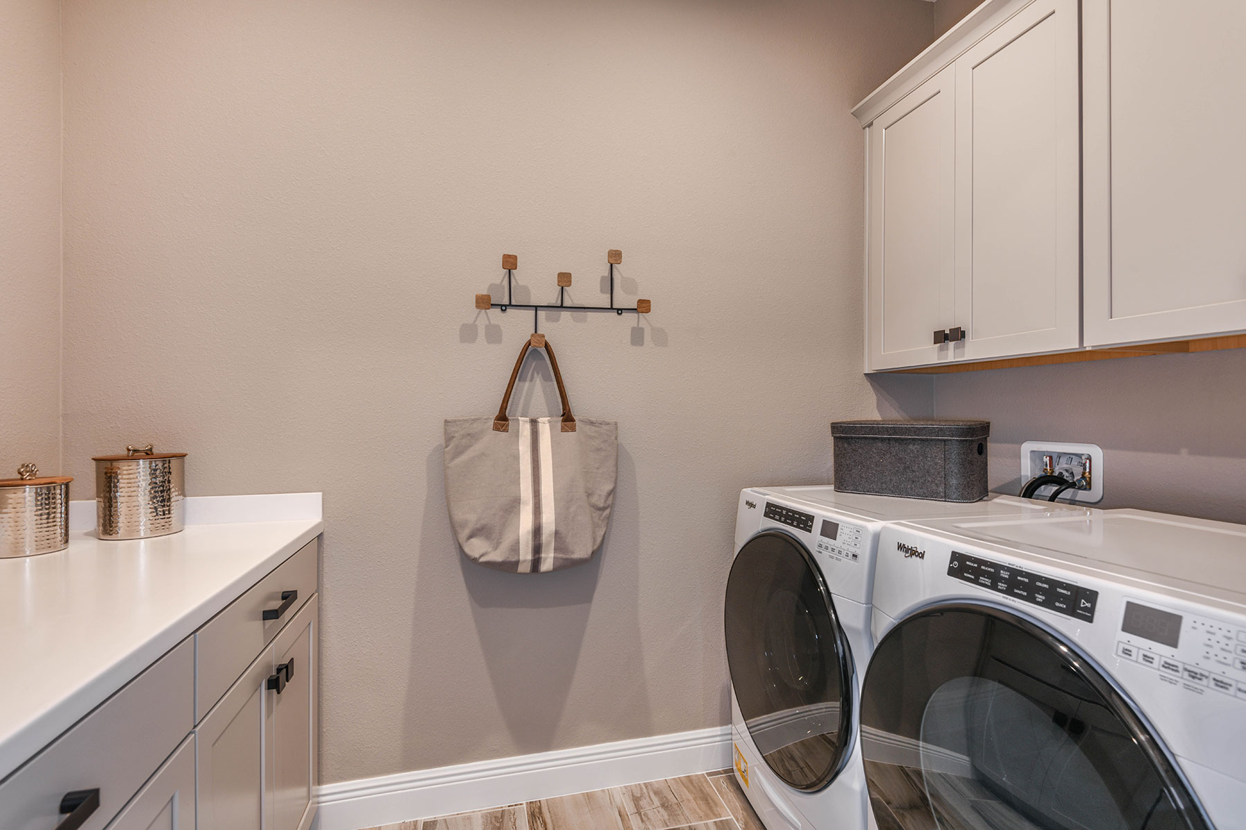Elm Plan Laundry at Parkview at Long Lake Ranch in Lutz Florida by Mattamy Homes