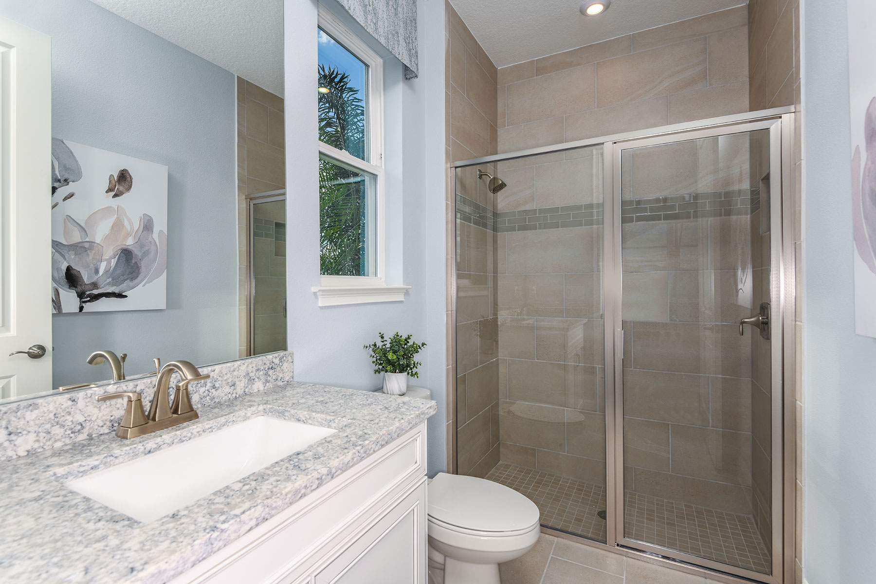 Myrtle Plan Bath at Parkview at Long Lake Ranch in Lutz Florida by Mattamy Homes