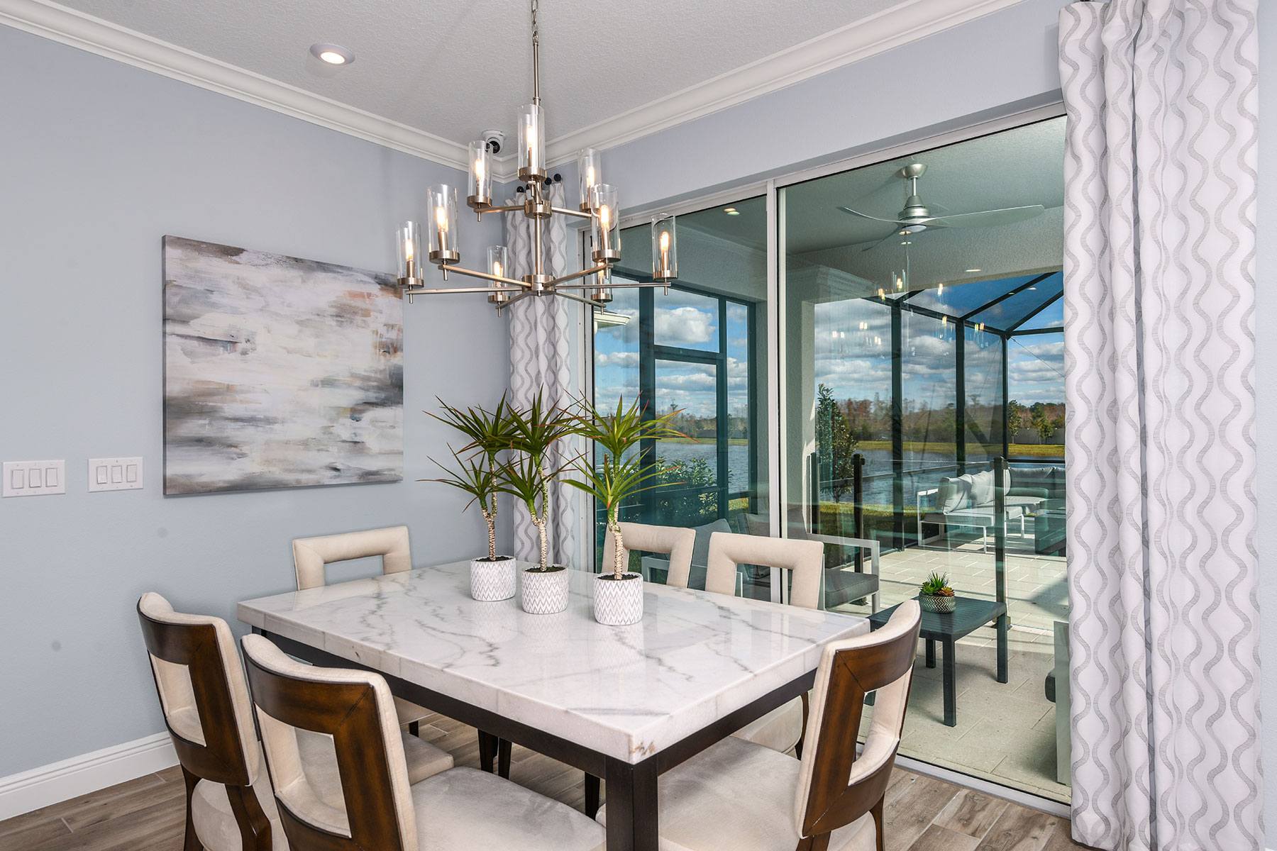 Myrtle Plan Dining at Parkview at Long Lake Ranch in Lutz Florida by Mattamy Homes