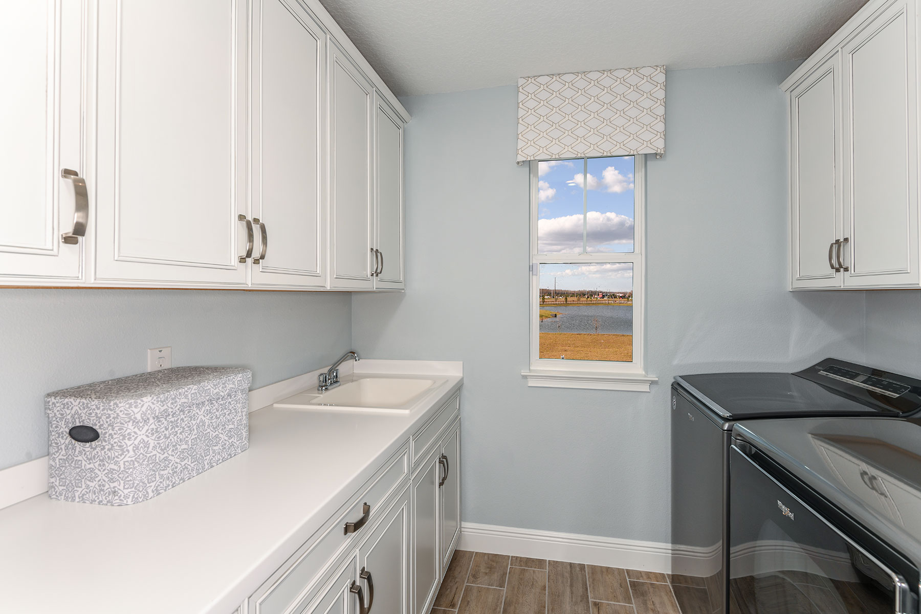 Myrtle Plan Laundry at Parkview at Long Lake Ranch in Lutz Florida by Mattamy Homes