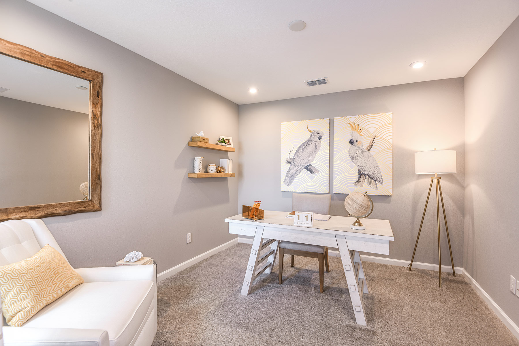 Sebring Plan Study Room at Parkview at Long Lake Ranch in Lutz Florida by Mattamy Homes