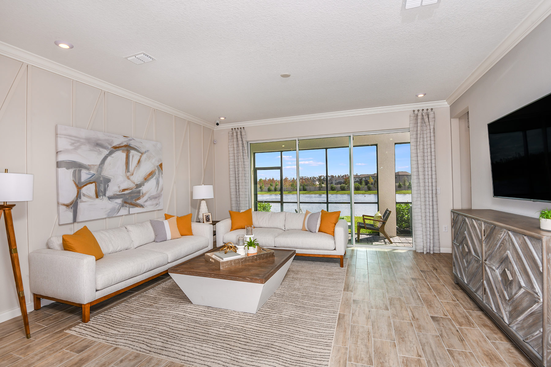 Sebring Plan Greatroom at Parkview at Long Lake Ranch in Lutz Florida by Mattamy Homes