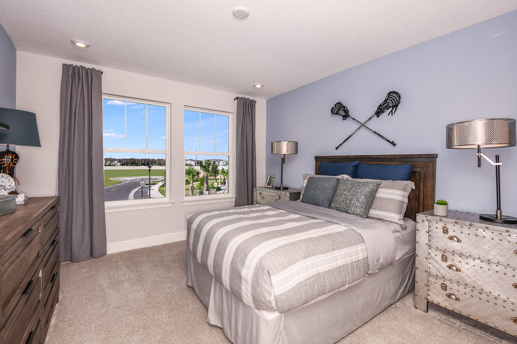 Venice Plan Bedroom at Parkview at Long Lake Ranch in Lutz Florida by Mattamy Homes
