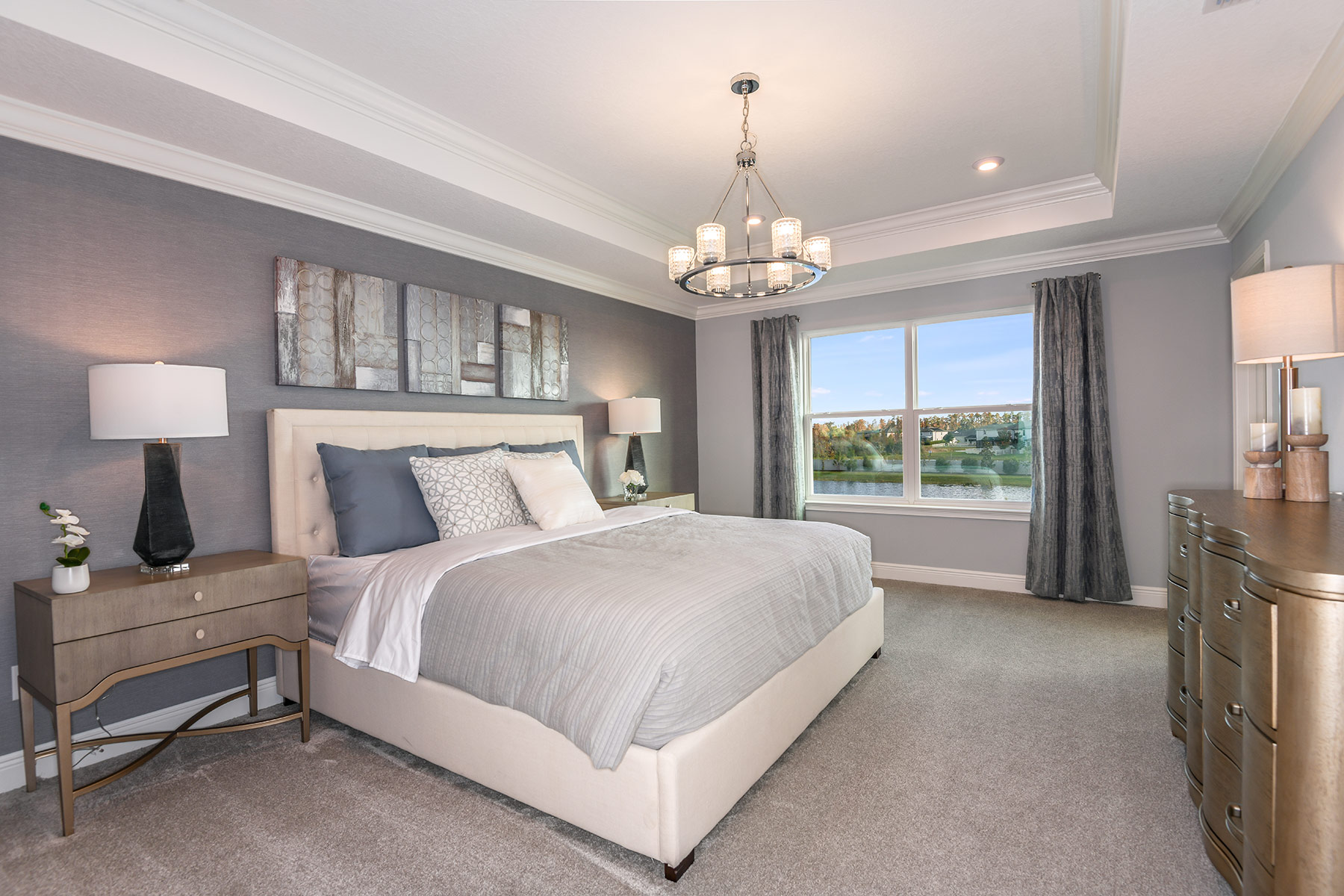 Parkview at Long Lake Ranch Bedroom in Lutz Florida by Mattamy Homes