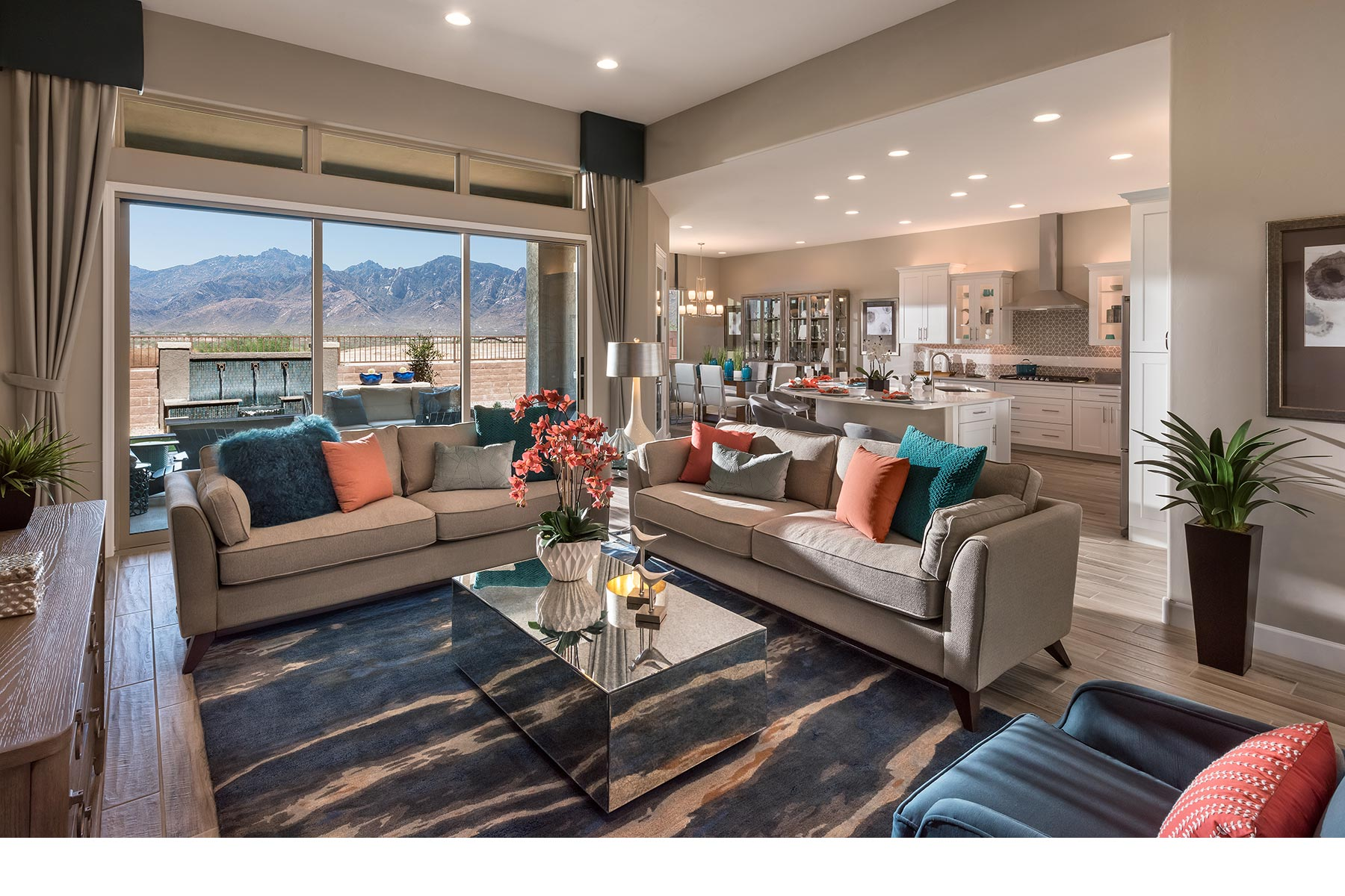 Alterra at Vistoso Trails Greatroom in Oro Valley Arizona by Mattamy Homes