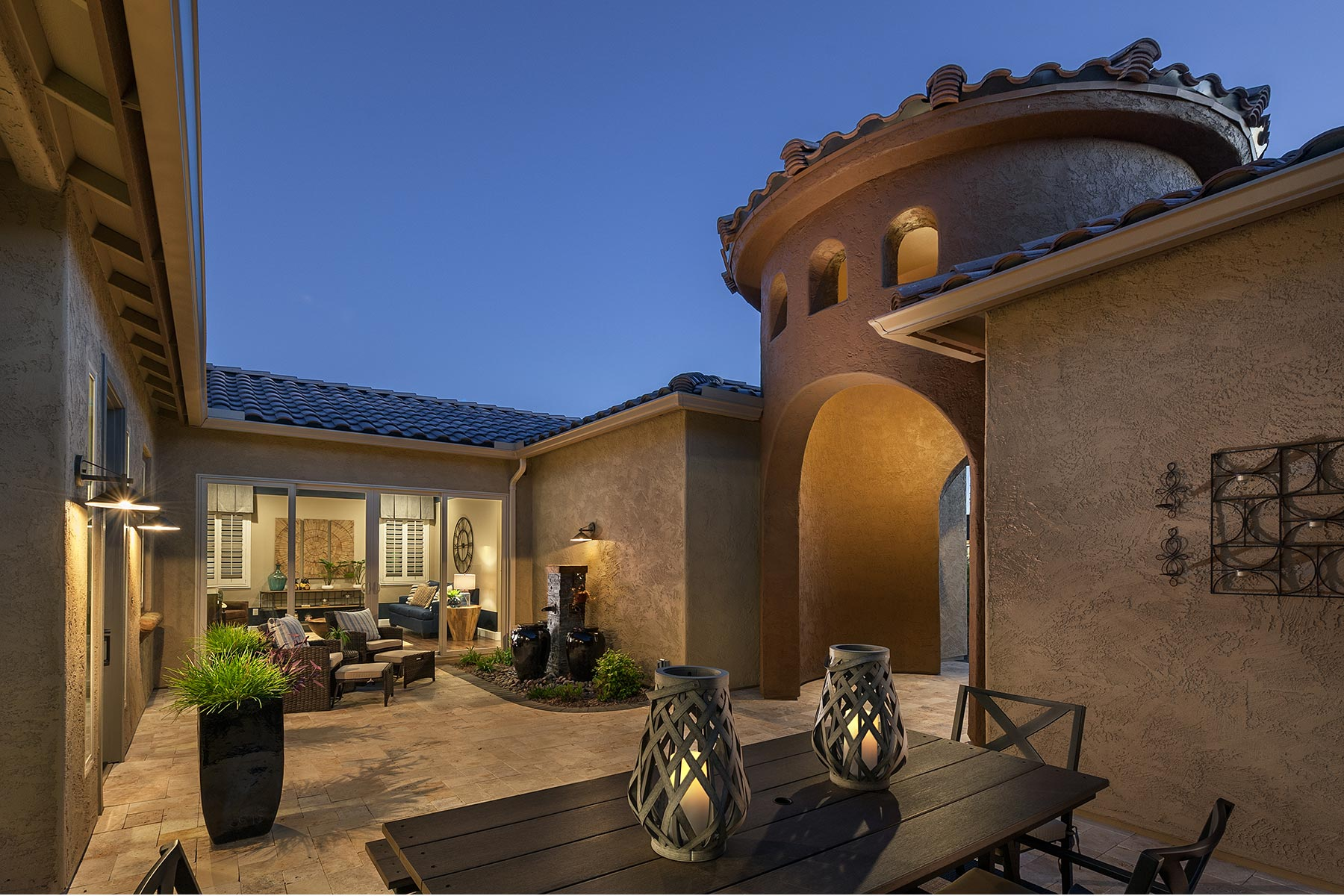 Alterra at Vistoso Trails Front Porch in Oro Valley Arizona by Mattamy Homes