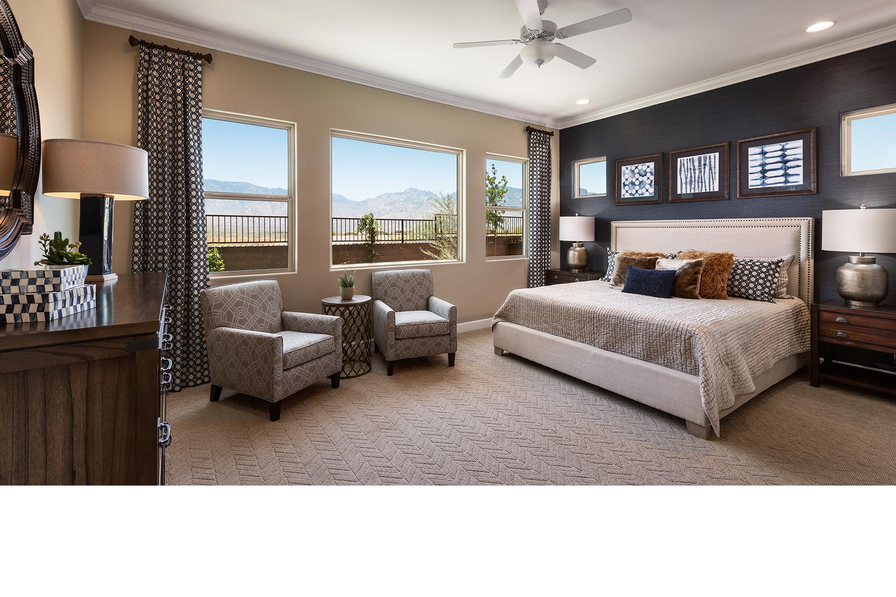 Alterra at Vistoso Trails Bedroom in Oro Valley Arizona by Mattamy Homes