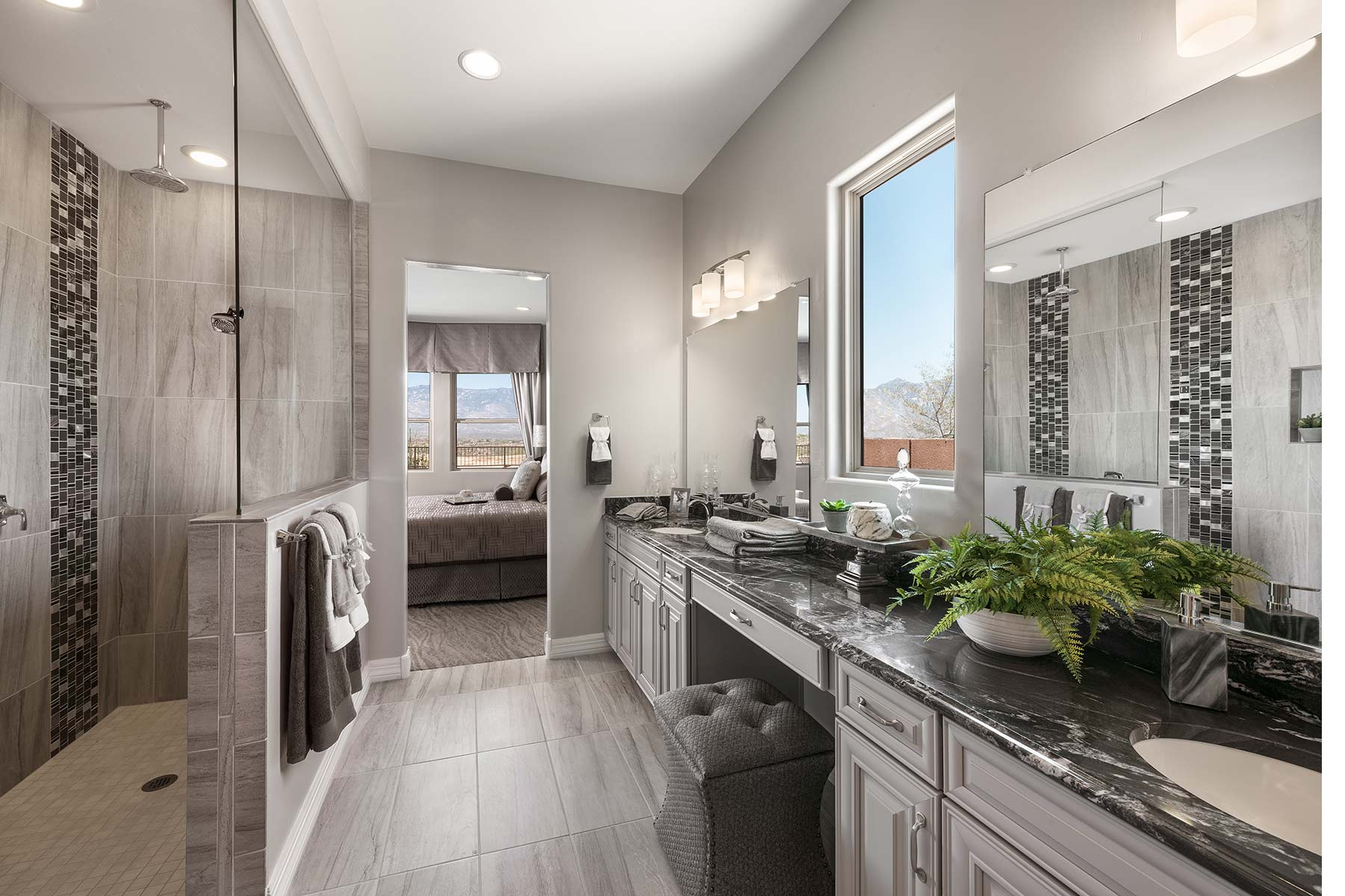 Patina Plan Bathroom_Master Bath at Alterra at Vistoso Trails in Oro Valley Arizona by Mattamy Homes
