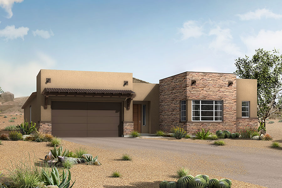 Alterra at Vistoso Trails Elevation Front in Oro Valley Arizona by Mattamy Homes