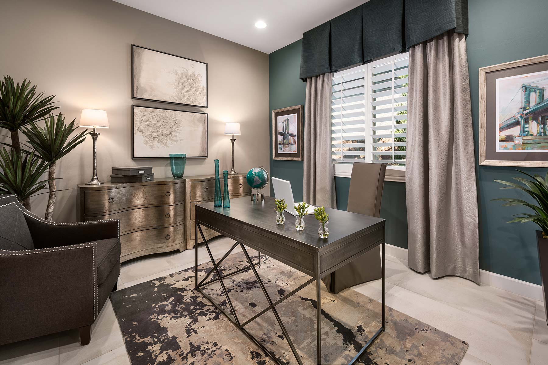 Strata Plan Study Room at Alterra at Vistoso Trails in Oro Valley Arizona by Mattamy Homes