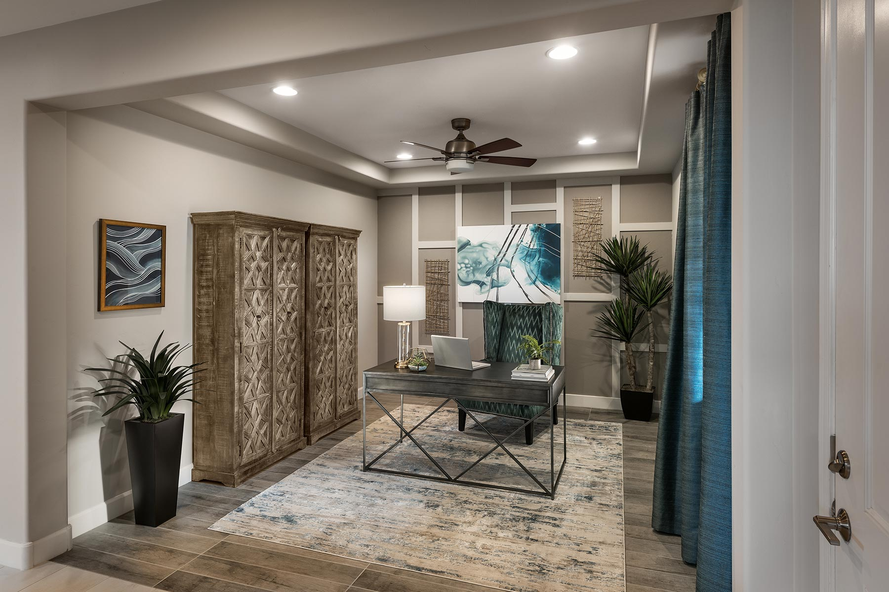 Willow Plan Study Room at Desert Oasis at Twin Peaks in Marana Arizona by Mattamy Homes