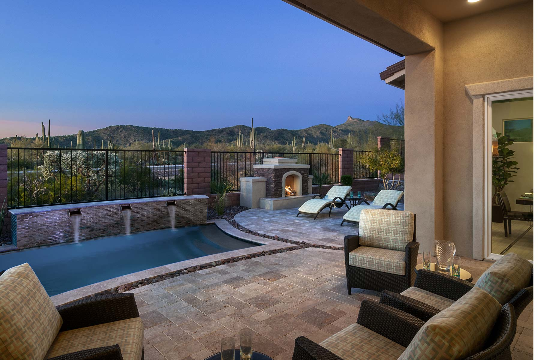 Cimarron Plan Exterior Others at Dove Mountain in Marana Arizona by Mattamy Homes