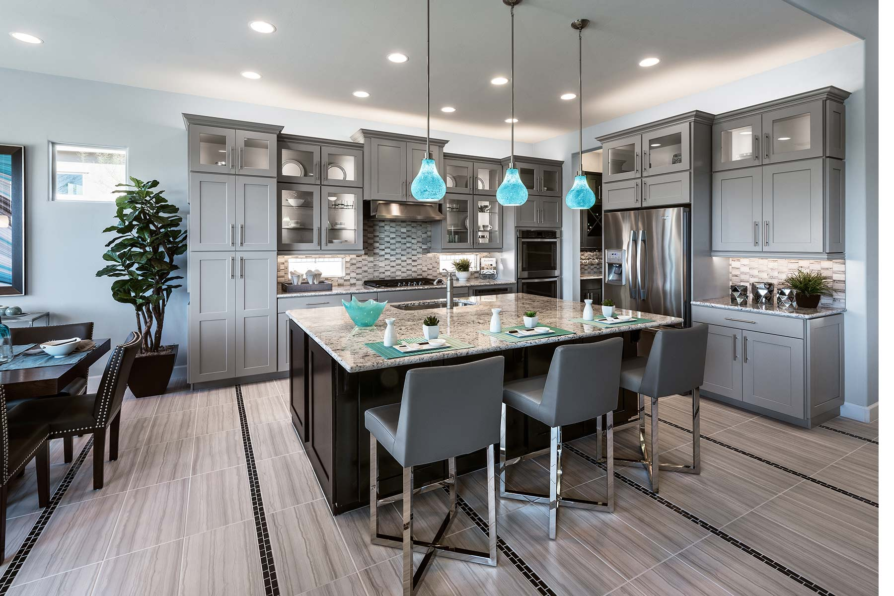 Dove Mountain Kitchen in Marana Arizona by Mattamy Homes