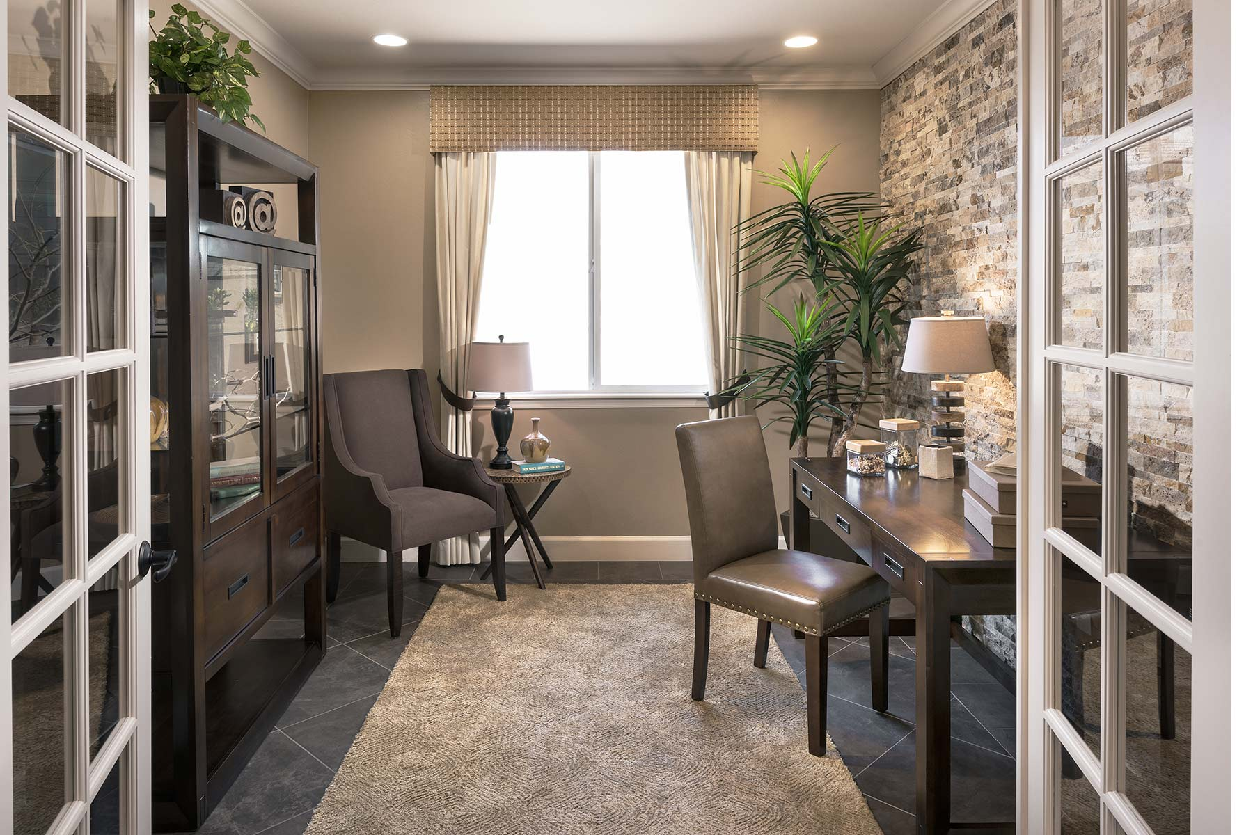 Lookout Plan Study Room at Dove Mountain in Marana Arizona by Mattamy Homes