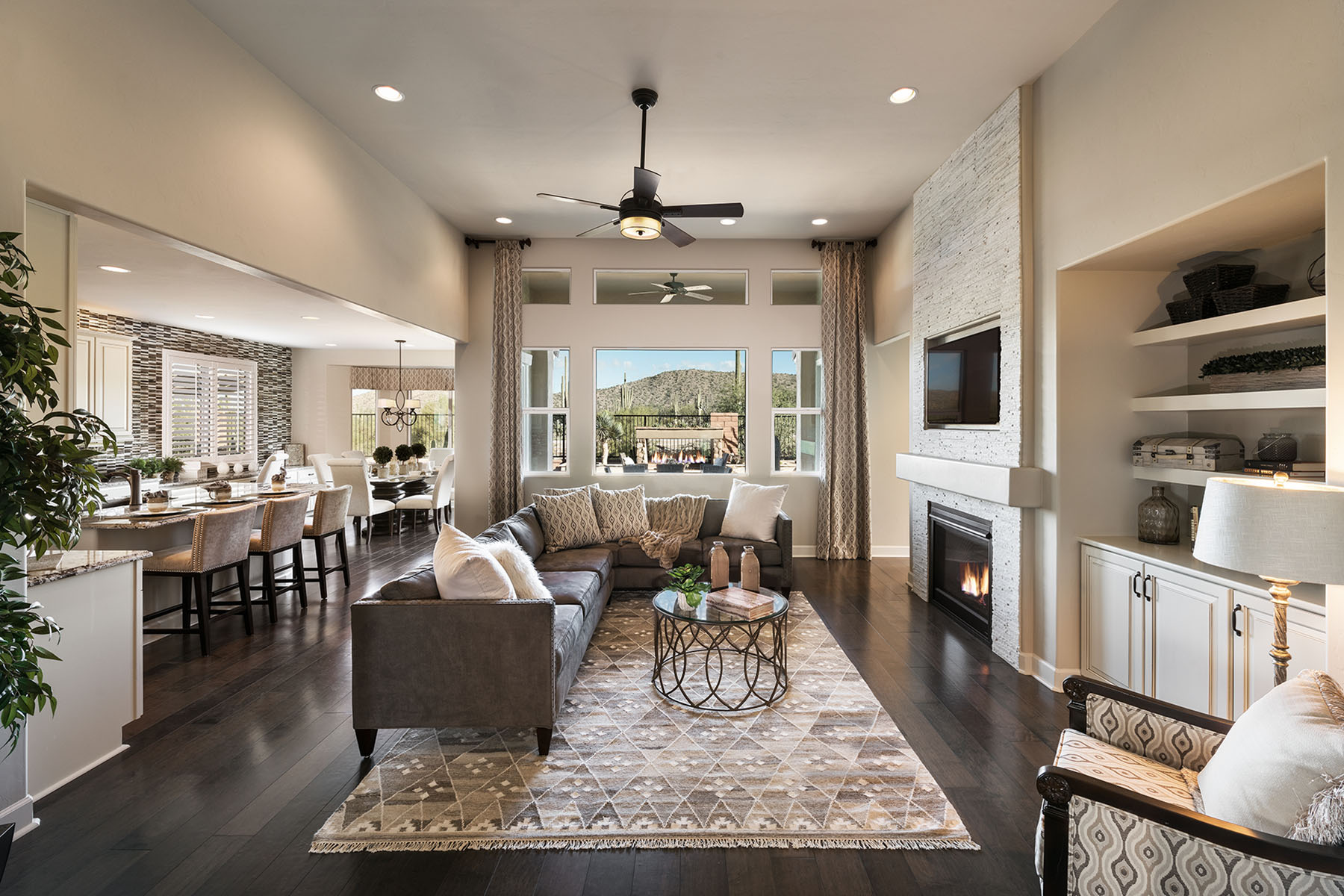 Greatroom in Jacksonville Florida by Mattamy Homes