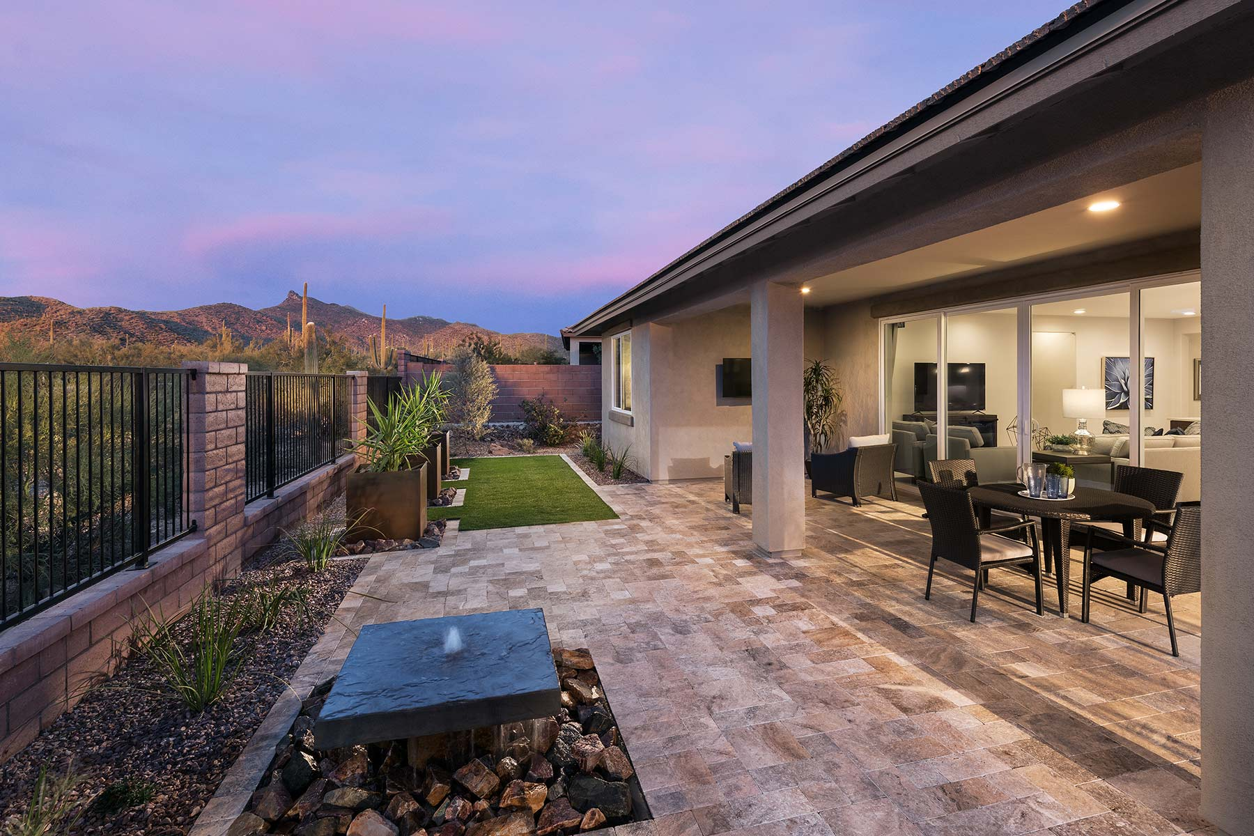 Sycamore Plan Exterior Others at Dove Mountain in Marana Arizona by Mattamy Homes