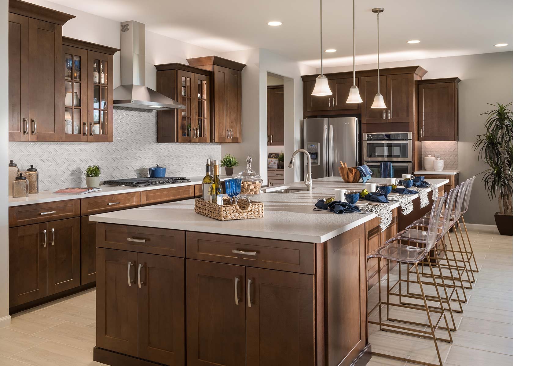 Sycamore Plan Kitchen at Dove Mountain in Marana Arizona by Mattamy Homes