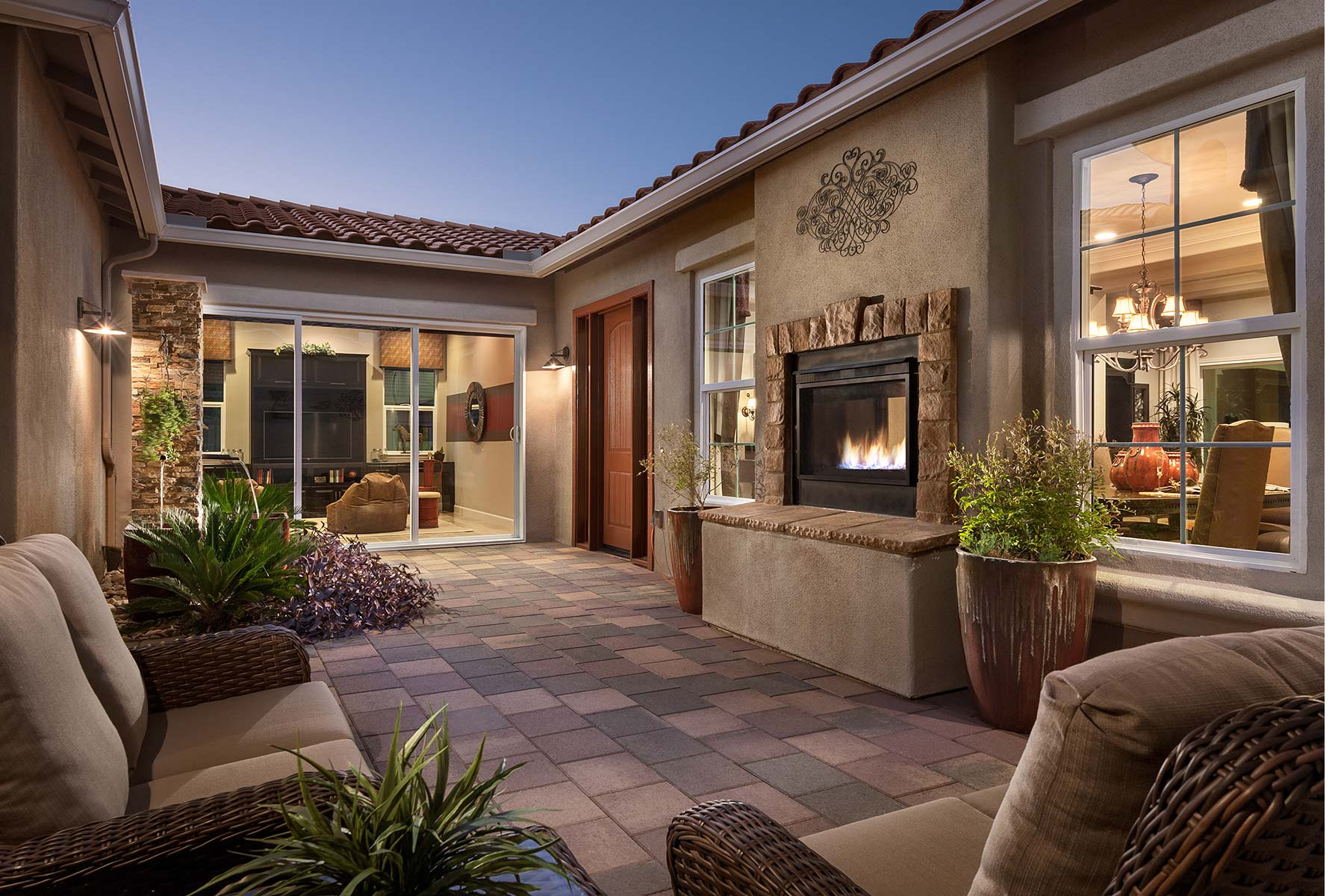 Dove Mountain Patio in Marana Arizona by Mattamy Homes