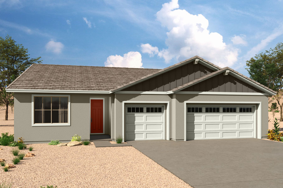Agave Plan Elevation Front at Saguaro Trails in Tucson Arizona by Mattamy Homes
