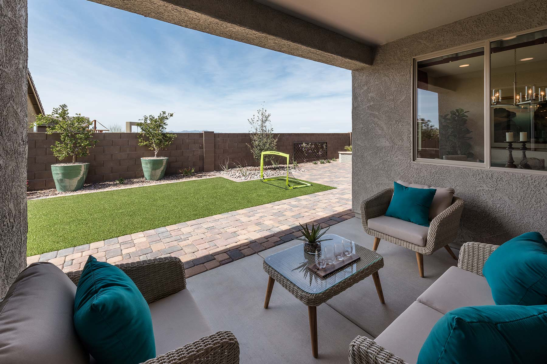 Agave Plan Exterior Others at Saguaro Trails in Tucson Arizona by Mattamy Homes