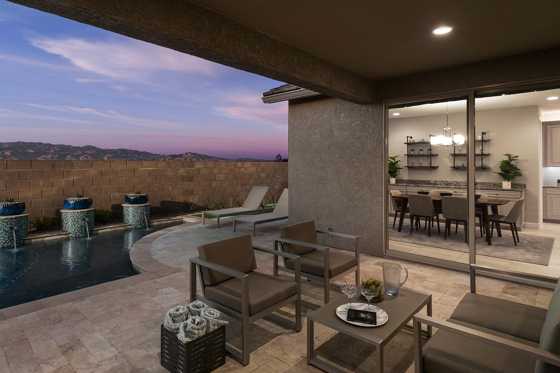Echo Plan Exterior Others at Saguaro Trails in Tucson Arizona by Mattamy Homes