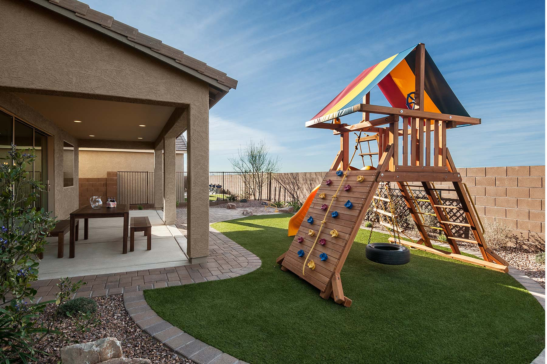 Mesquite Plan Exterior Others at Saguaro Trails in Tucson Arizona by Mattamy Homes