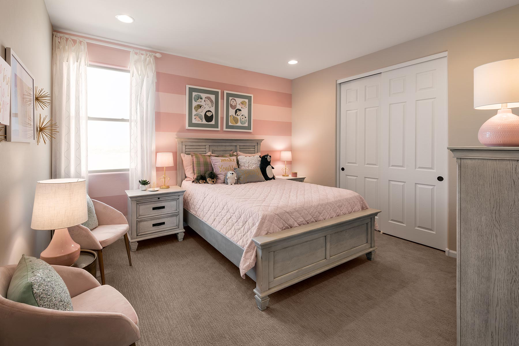 Mesquite Plan Bedroom at Saguaro Trails in Tucson Arizona by Mattamy Homes