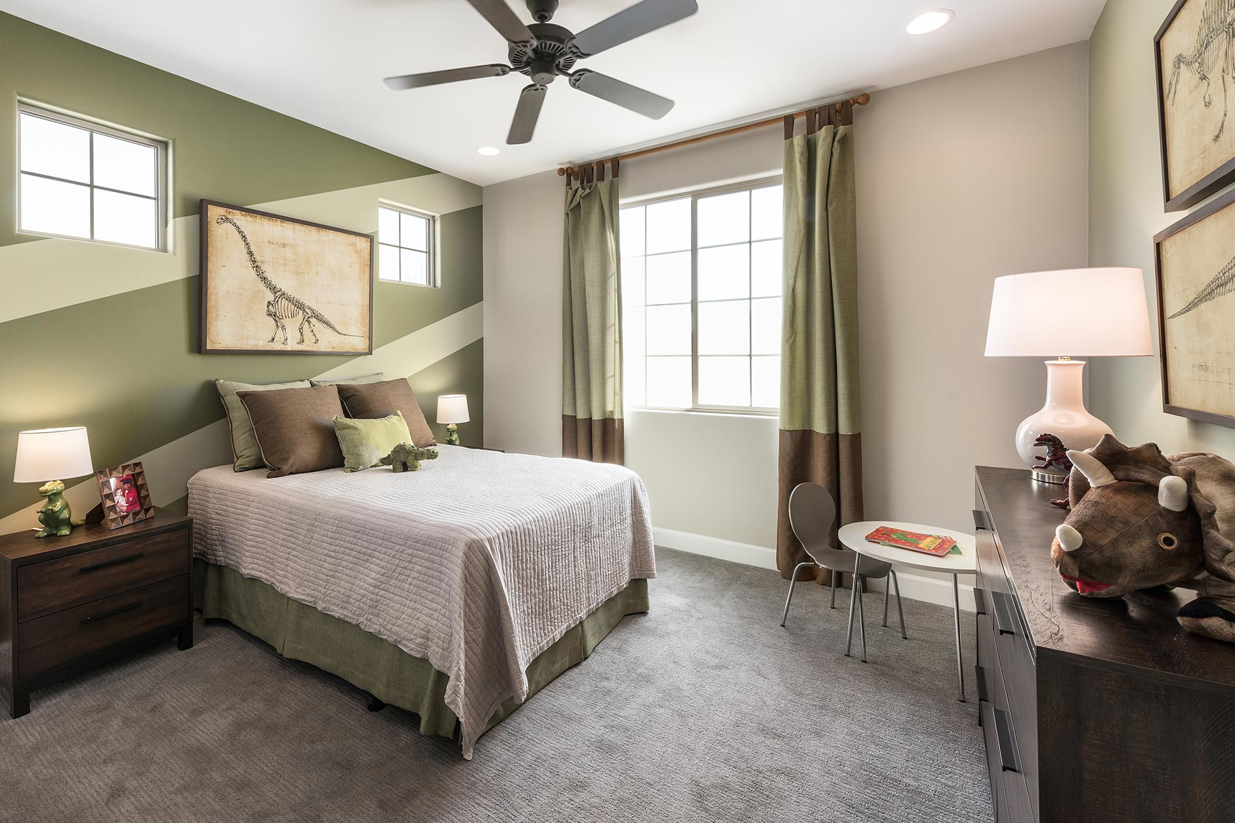 Ocotillo Plan Bedroom at Saguaro Trails in Tucson Arizona by Mattamy Homes