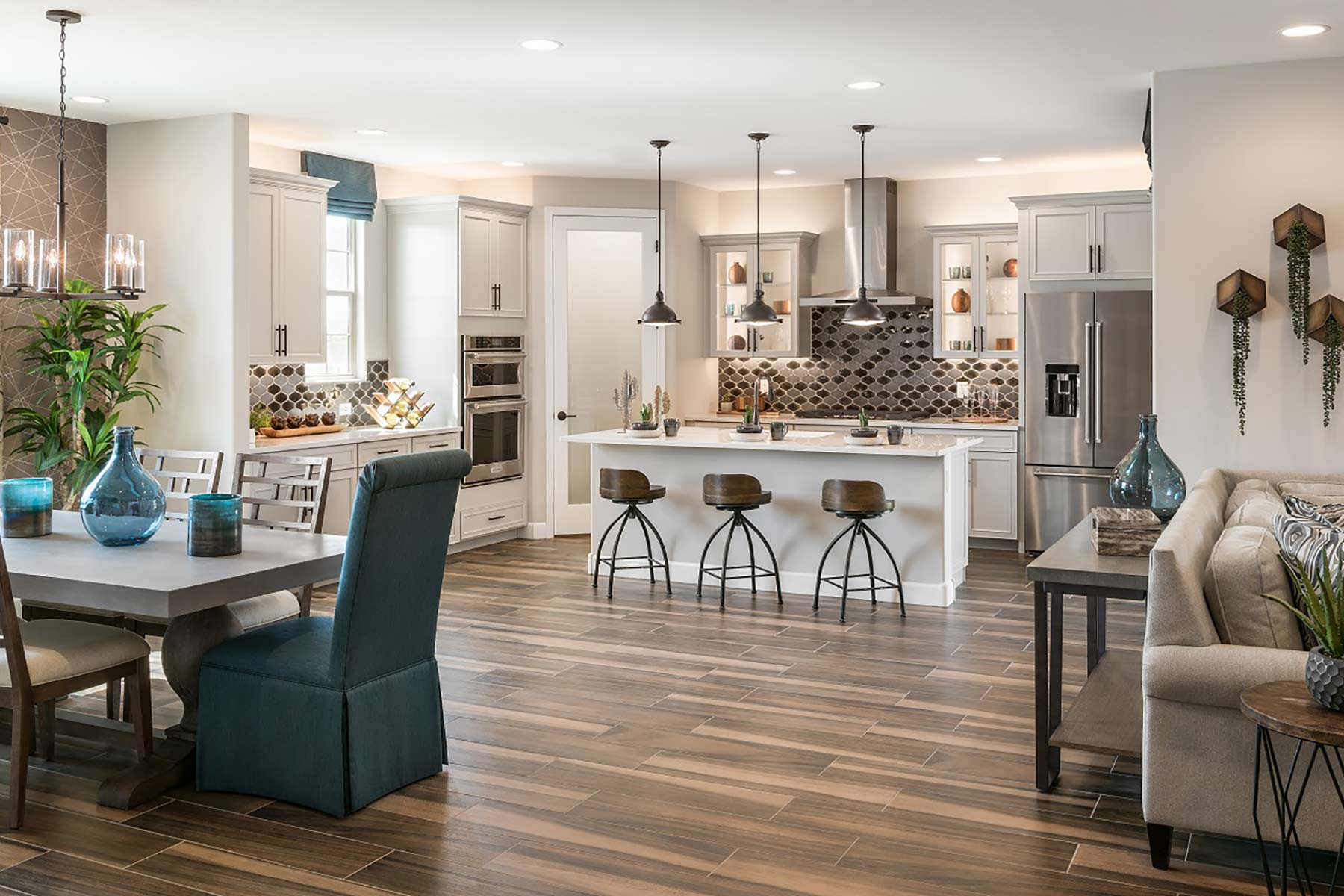 Ocotillo Plan Greatroom at Saguaro Trails in Tucson Arizona by Mattamy Homes