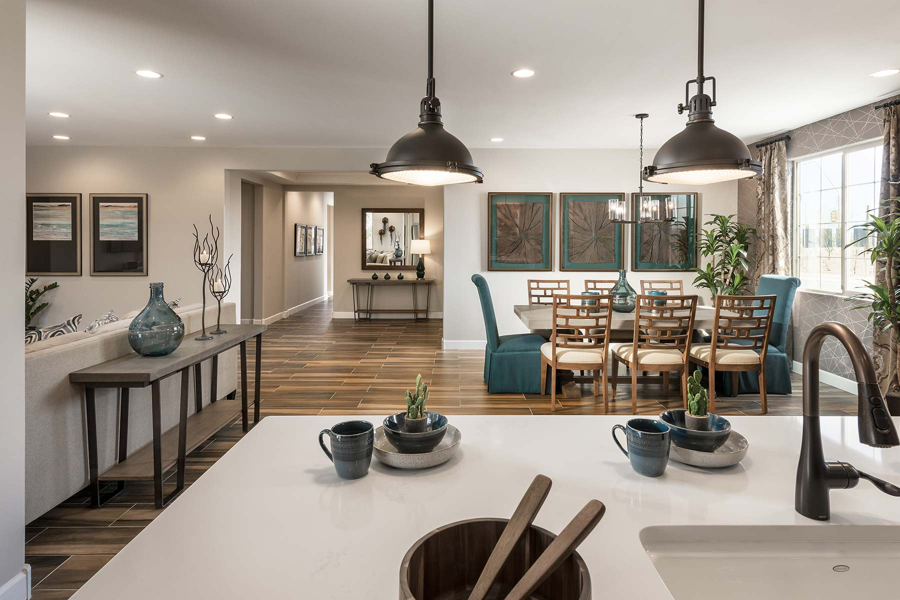 Ocotillo Plan Kitchen at Saguaro Trails in Tucson Arizona by Mattamy Homes
