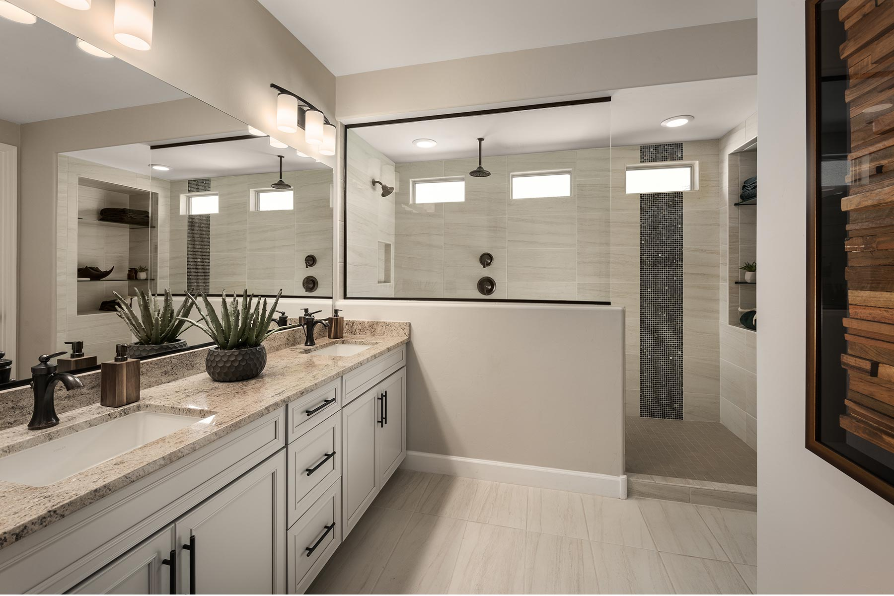 Ocotillo Plan Bathroom_Master Bath at Saguaro Trails in Tucson Arizona by Mattamy Homes