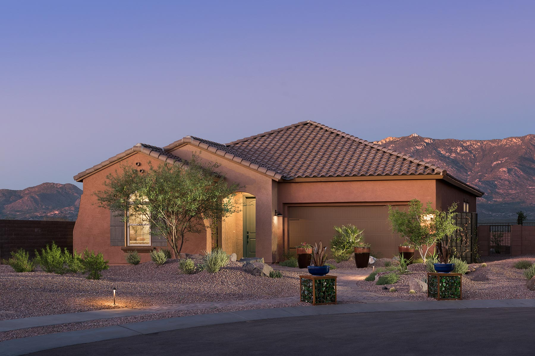 Aspect Plan Exterior Others at Viewpointe at Vistoso Trails in Oro Valley Arizona by Mattamy Homes