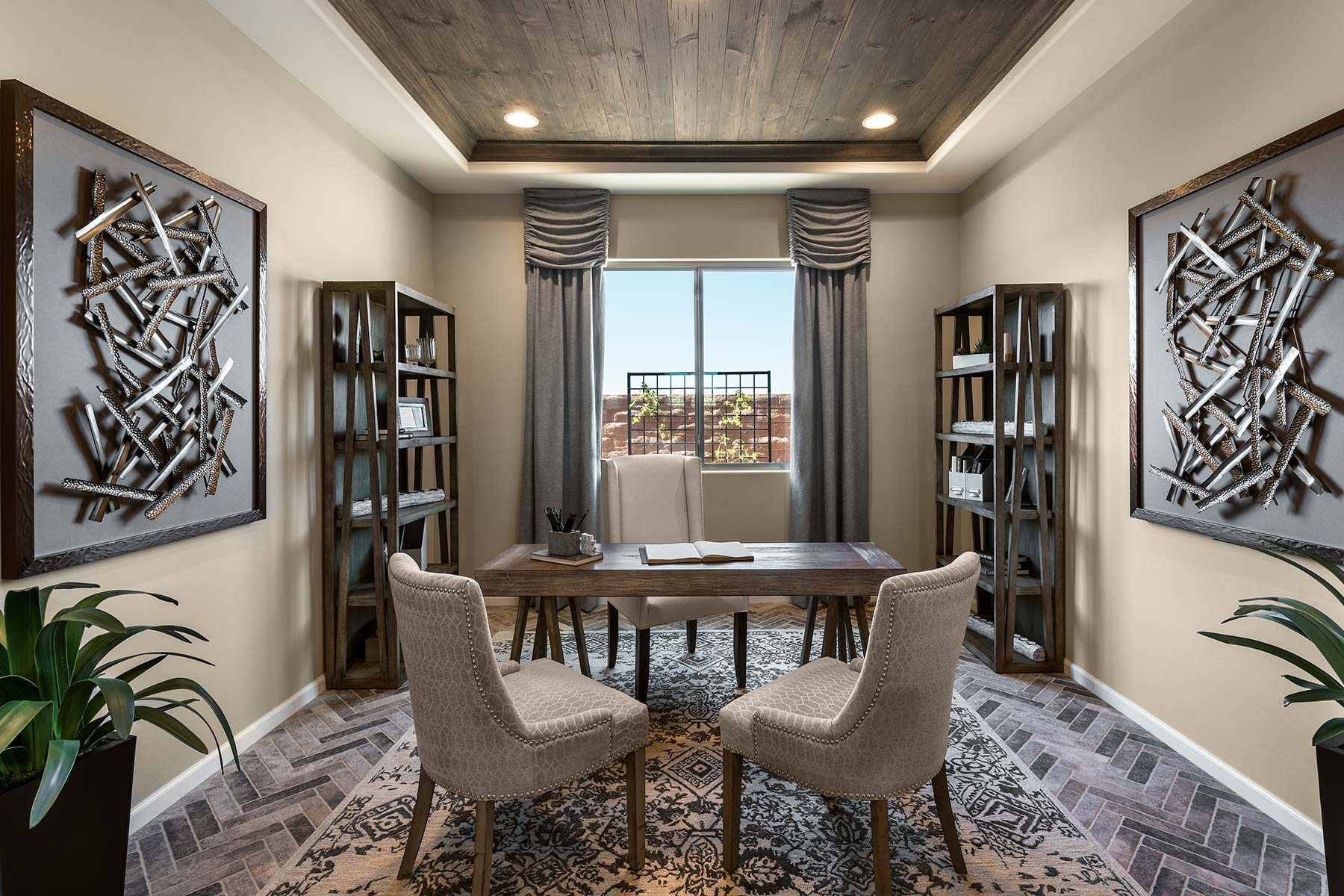 Aspect Plan Study Room at Viewpointe at Vistoso Trails in Oro Valley Arizona by Mattamy Homes