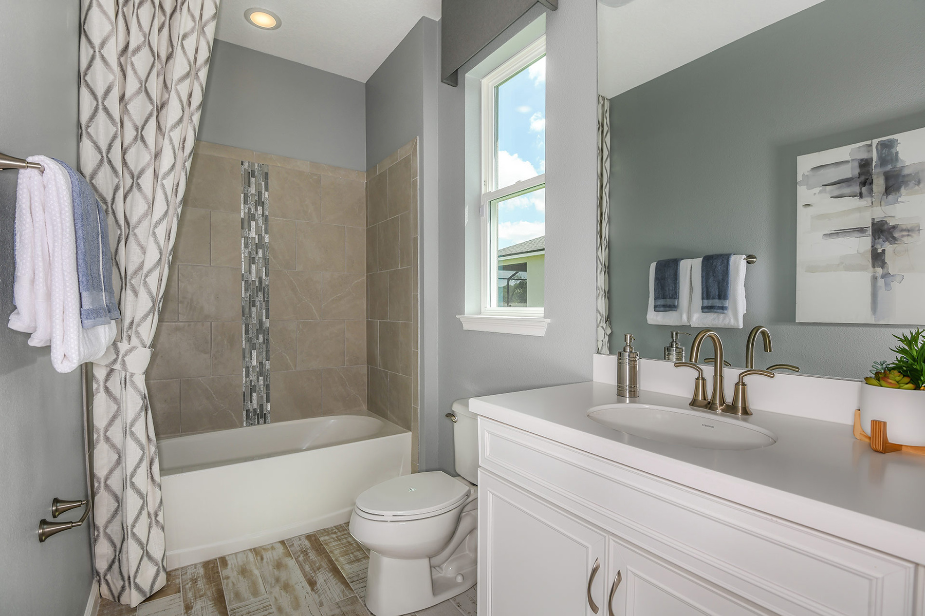 Coquina II Plan Bath at Wellen Park - Renaissance in Venice Florida by Mattamy Homes