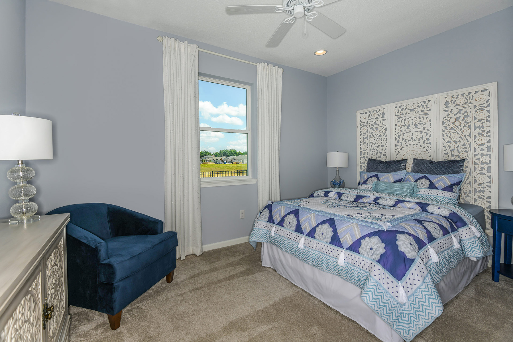 Coquina II Plan Bedroom at Wellen Park - Renaissance in Venice Florida by Mattamy Homes
