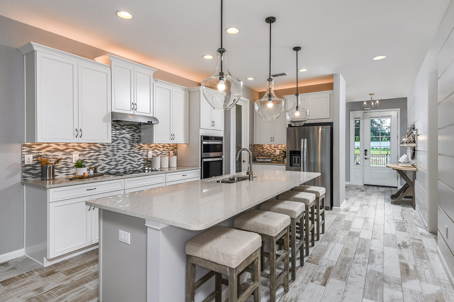 Coquina II Plan Kitchen at Wellen Park - Renaissance in Venice Florida by Mattamy Homes
