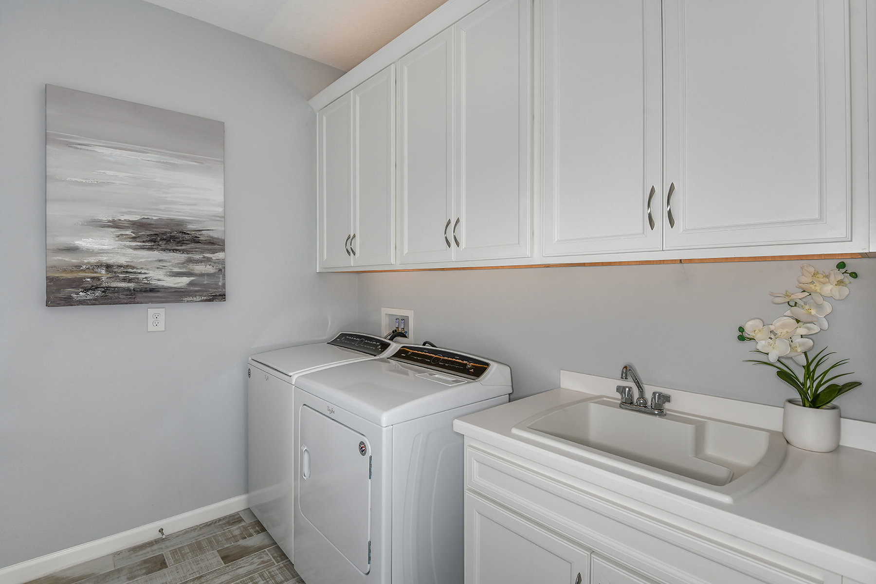 Coquina II Plan Laundry at Wellen Park - Renaissance in Venice Florida by Mattamy Homes