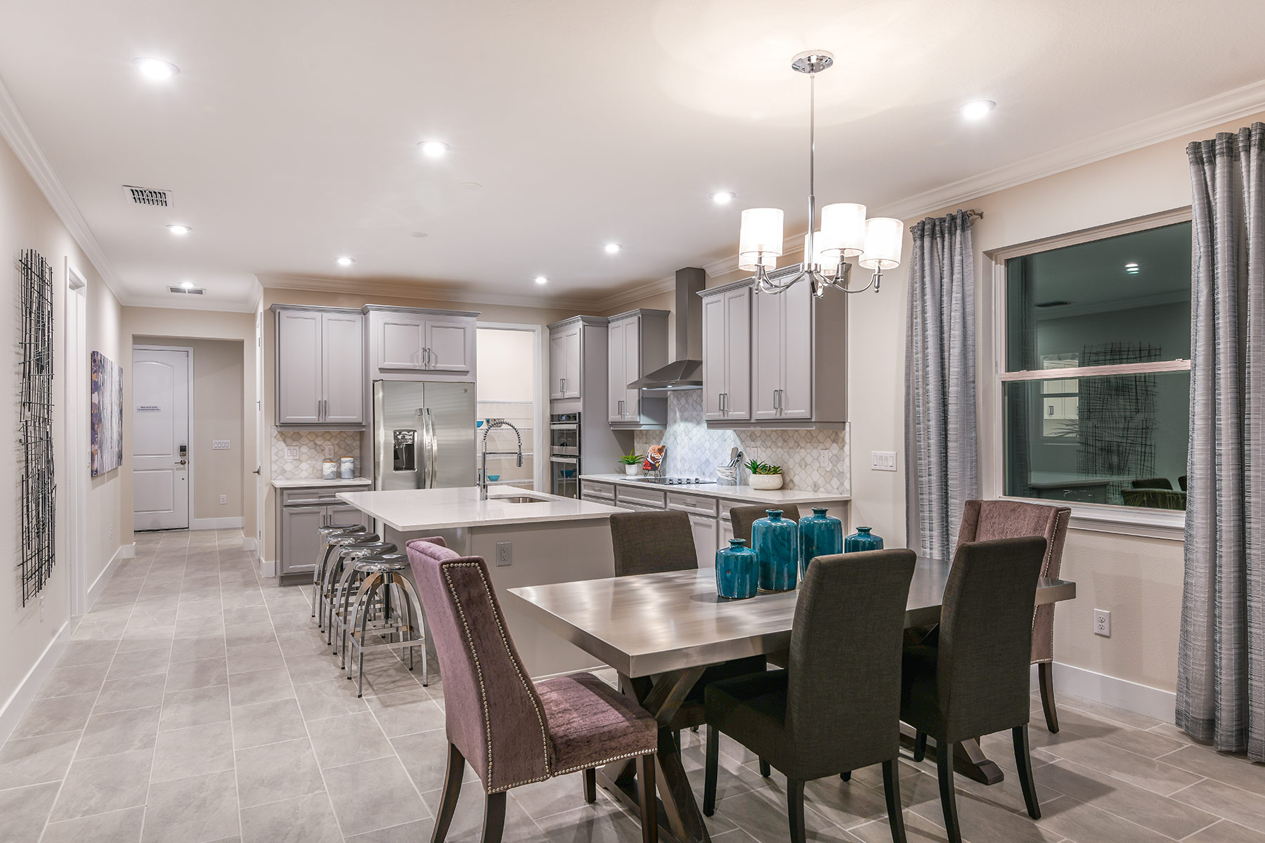 Dominica II Plan Dining at Wellen Park - Renaissance in Venice Florida by Mattamy Homes
