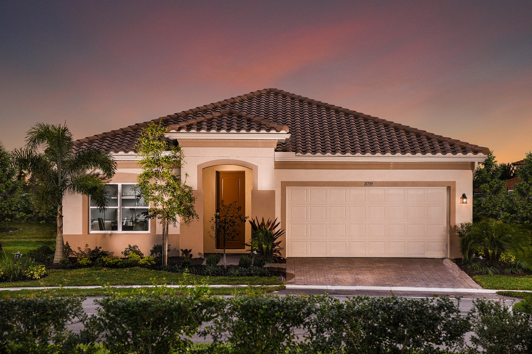 Wellen Park - Renaissance Elevation Front in Venice Florida by Mattamy Homes