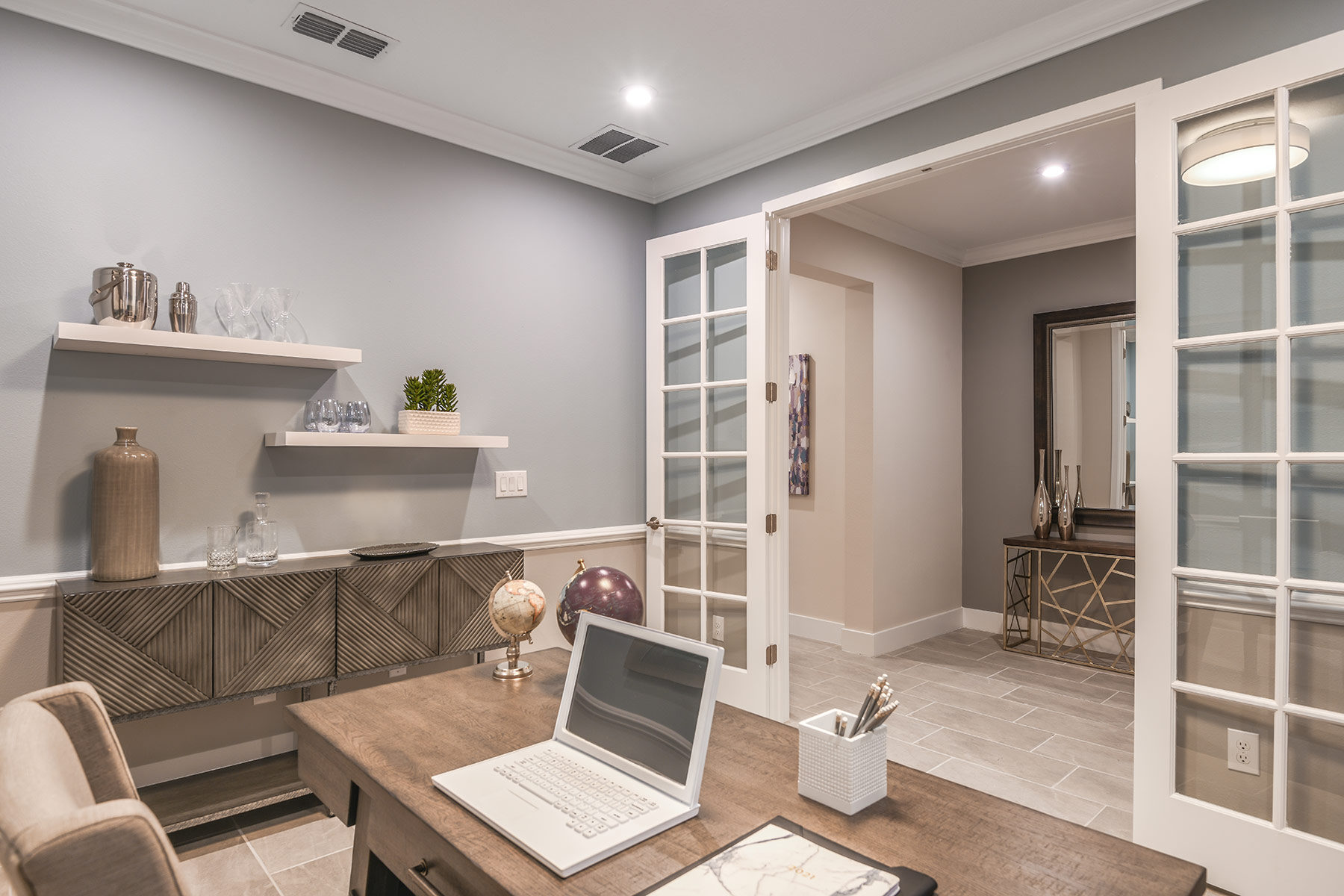 Dominica II Plan Study Room at Wellen Park - Renaissance in Venice Florida by Mattamy Homes